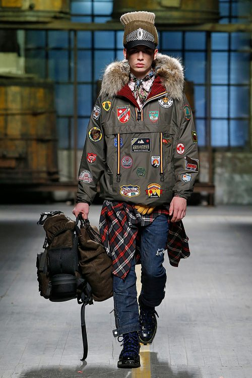 <strong>Dsquared2</strong> 2017, Dsquared2, Fall/Winter, Menswear, Milan