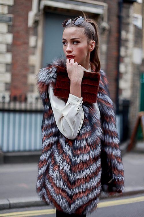 """<strong>""""Jessica"""" Reversible Fur Vest <a href=""""https://rachelzeitlin.com/collections/all"""">Shop the fur style here </a><br/>Brown Notebook<br/><a href=""""http://www.rebeccabradleylondon.com/"""">Shop the fur style here</a></strong> Rachel Z, Rebecca Bradley"""
